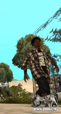 New Grove Street pour GTA San Andreas quatrième écran