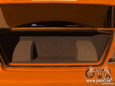 Lexus IS300 Taxi pour GTA San Andreas vue arrière