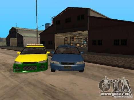 Toyota Camry Thailand Taxi pour GTA San Andreas
