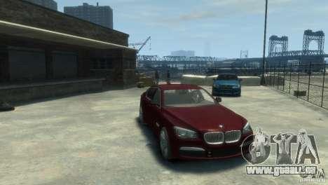 BMW 750i (F01) für GTA 4 rechte Ansicht