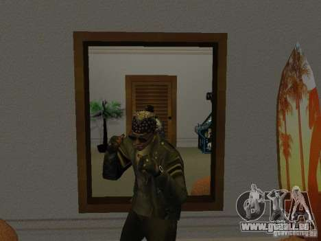 Veste de crâne pour GTA San Andreas troisième écran