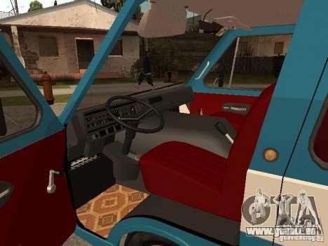RAPH 2912 pour GTA San Andreas vue arrière