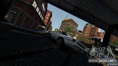 Tampa aus der GTA EFLC für GTA 4 hinten links Ansicht