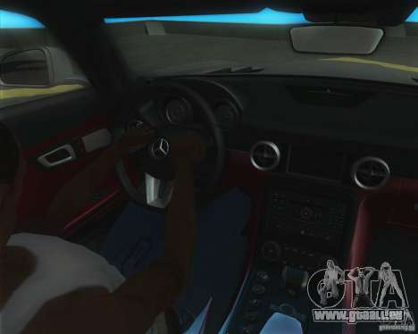 Mercedes-Benz SLS AMG 2010 v.1.0 für GTA San Andreas zurück linke Ansicht