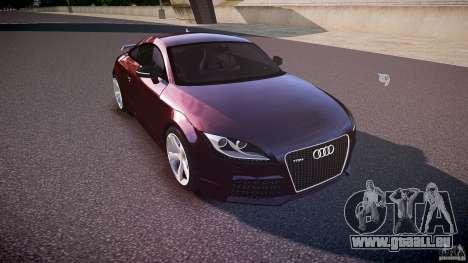 Audi TT RS v3.0 2010 pour GTA 4 est une vue de l'intérieur