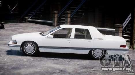 Buick Roadmaster Sedan 1996 v1.0 pour GTA 4 Vue arrière de la gauche