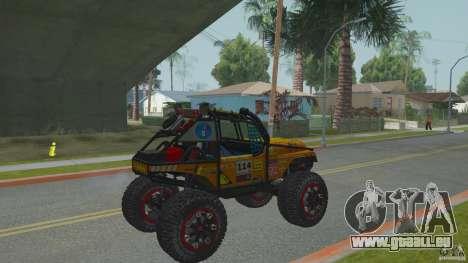 Jeep CJ-7 4X4 pour GTA San Andreas vue de droite