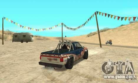 Nevada v1.0 FlatOut 2 für GTA San Andreas linke Ansicht