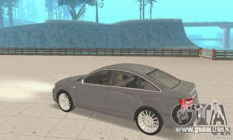 Audi A6 3.0 TDI quattro 2004 pour GTA San Andreas vue intérieure