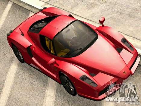 Ferrari Enzo Novitec V1 pour GTA San Andreas sur la vue arrière gauche