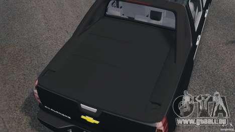 Chevrolet Avalanche Stock [Beta] pour GTA 4 vue de dessus