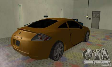 Mitsubishi Eclipse GT pour GTA San Andreas laissé vue