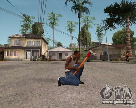 Marteau d'Assassins Creed Brotherhood pour GTA San Andreas