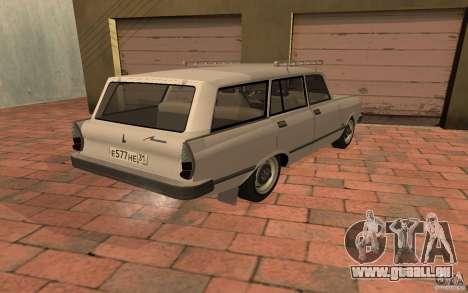 AZLK 2137SL pour GTA San Andreas laissé vue
