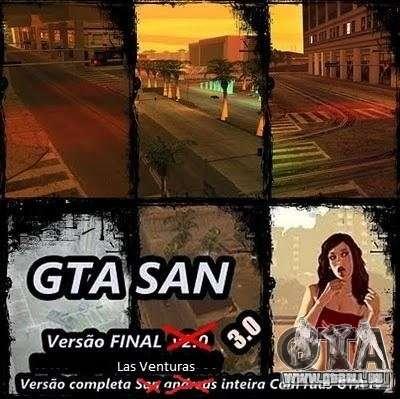 Todas Ruas v3.0 (Las Venturas) pour GTA San Andreas