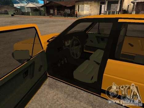 Volkswagen Jetta pour GTA San Andreas sur la vue arrière gauche