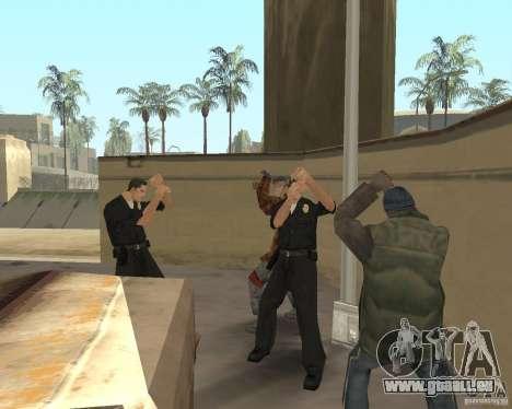 Clochards fous pour GTA San Andreas deuxième écran