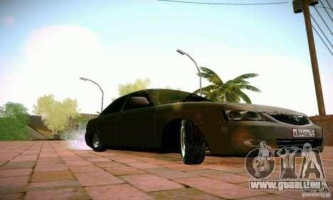 VAZ Lada 2170 Priora pour GTA San Andreas vue arrière
