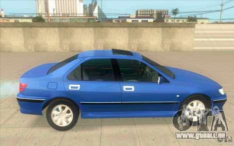 Peugeot 406 1.9 HDi pour GTA San Andreas laissé vue