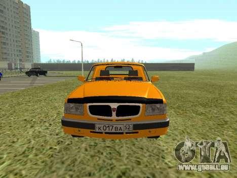 GAZ Trofim 17310 pour GTA San Andreas vue de droite