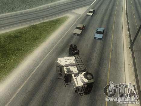 Kenworth T908 pour GTA San Andreas vue de dessous