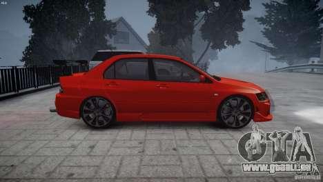 Mitsubishi Lancer Evolution 8 v2.0 pour GTA 4 est un droit