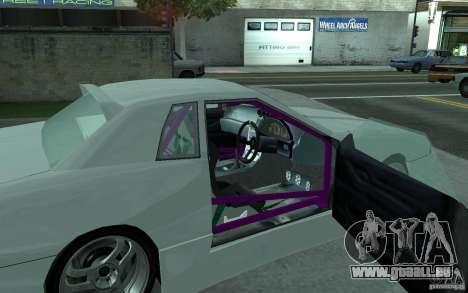 Elegy MS R32 pour GTA San Andreas vue de droite