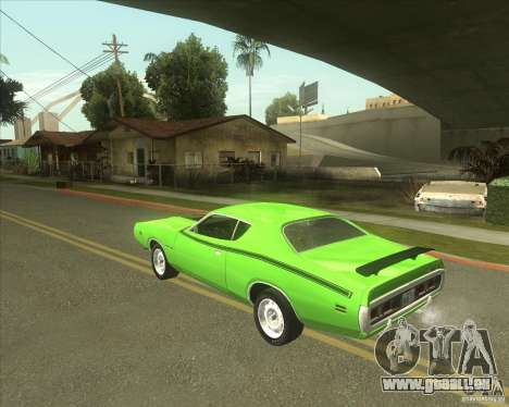 1971 Dodge Charger Super Bee für GTA San Andreas linke Ansicht