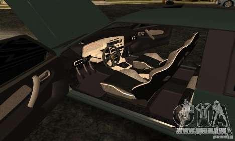 VAZ 2113 Ferrari für GTA San Andreas Innenansicht