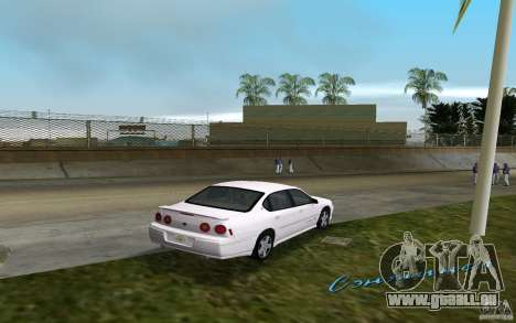 Chevrolet Impala SS 2003 für GTA Vice City rechten Ansicht