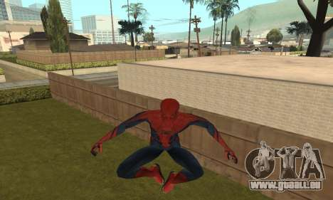 The Amazing Spider-Man Anim Test v1.0 pour GTA San Andreas