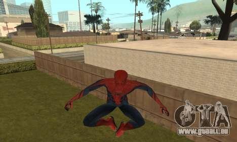 The Amazing Spider-Man Anim Test v1.0 für GTA San Andreas