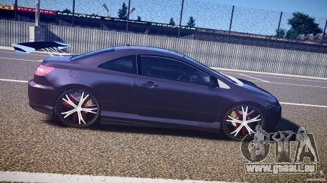 Honda Civic Si Tuning für GTA 4 Innenansicht