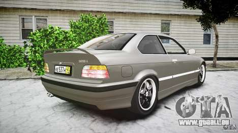 BMW E36 328i v2.0 für GTA 4 Seitenansicht