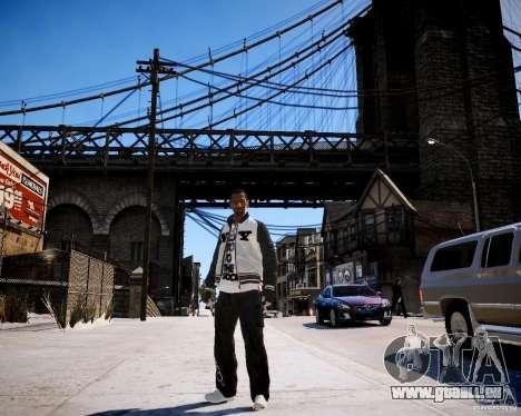 Niko - Cj pour GTA 4 quatrième écran
