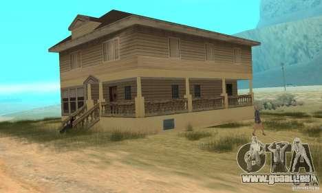Gebiet in der Wüste für GTA San Andreas her Screenshot