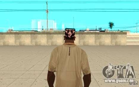 Superman bandana pour GTA San Andreas troisième écran