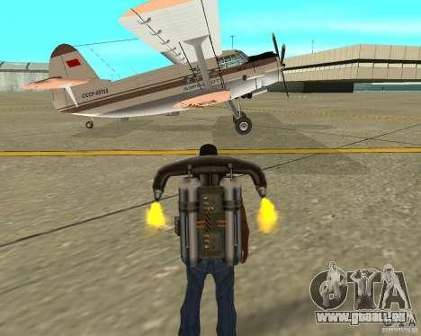 Antonov an-2 pour GTA San Andreas vue de droite