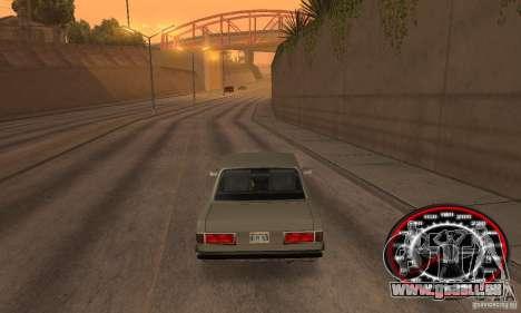 Speedo Skinpack FLAMES für GTA San Andreas dritten Screenshot
