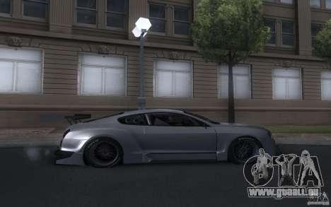 Bentley Continental Super Sport Tuning für GTA San Andreas rechten Ansicht