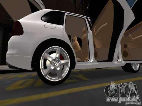 Porsche Cayenne Turbo 2003 v.2.0 pour GTA 4 vue de dessus
