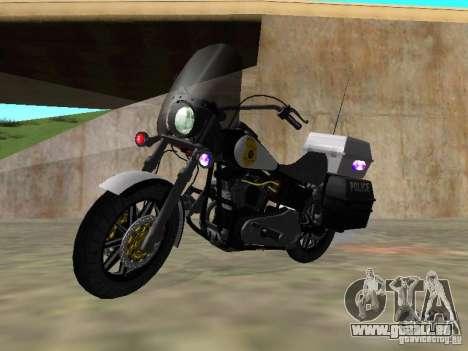 Harley Davidson Dyna Defender pour GTA San Andreas
