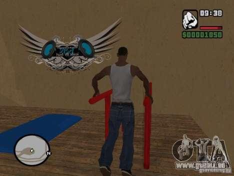 Training and Charging 2 pour GTA San Andreas troisième écran