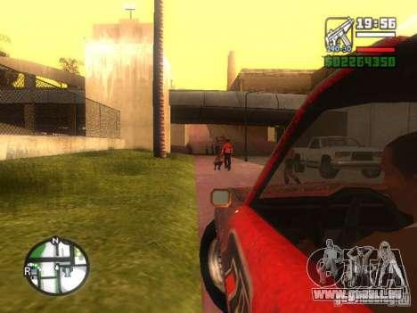 Lame de FlatOut pour GTA San Andreas vue arrière