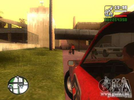 Klinge des FlatOut für GTA San Andreas Rückansicht