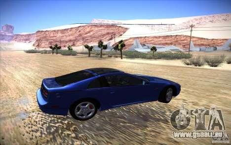 Nissan 300ZX Twin Turbo pour GTA San Andreas vue arrière