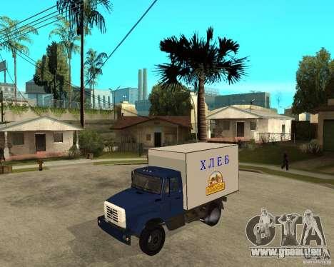 ZIL-433362 Extra Pack 2 pour GTA San Andreas laissé vue