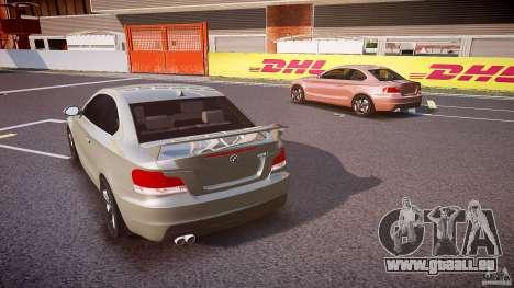 BMW 135i Coupe v1.0 2009 pour GTA 4 est un côté