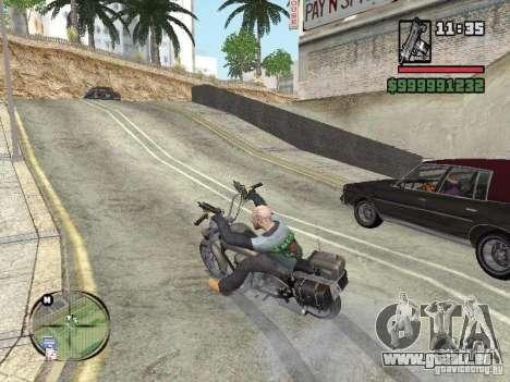 Vagos Biker pour GTA San Andreas deuxième écran