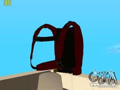 Parachute de TBOGT v2 pour GTA San Andreas cinquième écran